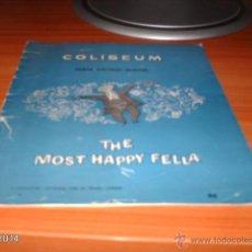 Coleccionismo: PROGRAMA DE TEATRO DE INGLATERRA DE AÑOS 40-50 DEL SIGLO XX. TEATRO COLISEUM. THE MOST HAPPY FELLA. Lote 41032996