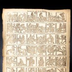 Colecionismo: AUCA DE LAS ESCENAS DEL SIGLO DE LAS PELUCAS. Lote 41083762