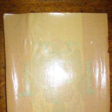 Coleccionismo: MUY ANTIGUA Y GRANDE - CALCOMANIA WUNDERLICH - ESCUDO ESPAÑA - AGUILA - PARA CRISTAL -. Lote 41147027