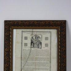 Coleccionismo: J2-018 CEDULA Y RECORT DE CADA DIA PER NO OBLIDARSE ...BARCELONA, FIGUERÓ 1696. Lote 41403979