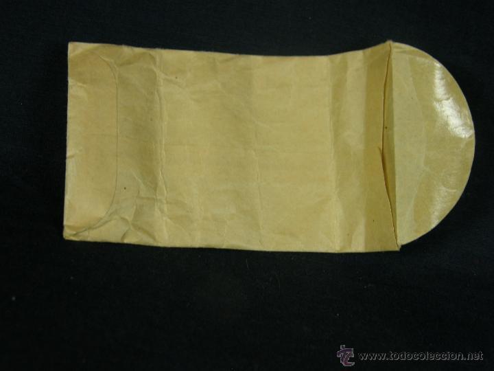 Coleccionismo: sobre papel parroquia de san Agustín reparto almendares colecta especial pagar parte alta iglesia - Foto 2 - 41415340