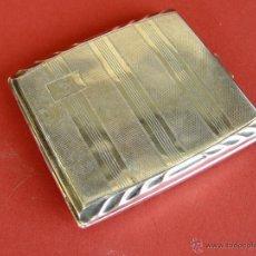 Coleccionismo: PITILLERA DE ALPACA DE LOS AÑOS 30-40. Lote 41464263