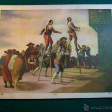Coleccionismo: LITOGRAFIA DEL PINTOR GOYA Nº 33 AÑOS 40 EDITORIAL CAAG. Lote 41490341
