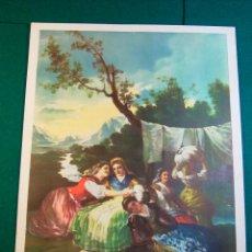 Coleccionismo: LITOGRAFIA DEL PINTOR GOYA Nº 13 AÑOS 40 EDITORIAL CAAG. Lote 41490417