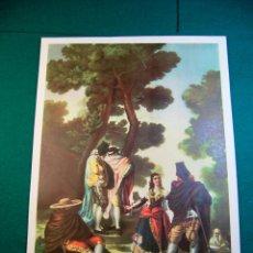 Coleccionismo: LITOGRAFIA DEL PINTOR GOYA Nº 11 AÑOS 40 EDITORIAL CAAG. Lote 41490463