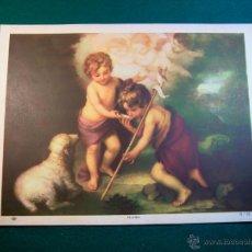Coleccionismo: LITOGRAFIA DEL PINTOR MURILLO Nº 31 AÑOS 40 EDITORIAL CAAG. Lote 41490627