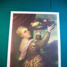 Coleccionismo: LITOGRAFIA DEL PINTOR TIZIANO Nº 36 AÑOS 40 EDITORIAL CAAG. Lote 41490713