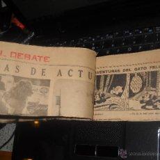 Coleccionismo: RECORTES 23 EL DEBATE,AVENTURAS DEL GATO FELIX,SEPTIEMBRE 1.935. Lote 41610094