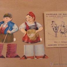 Coleccionismo: PAREJAS DE BAILE , NÚM .3 - GALLEGOS .. Lote 41781870