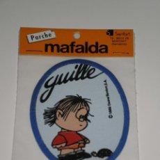 Coleccionismo: PARCHE DE TELA MAFALDA , QUINO/SENFOR,S.A-BARCELONA . DEL AÑO 1986 . NUEVA EN SU BLISTER ORIGINAL .. Lote 42034759