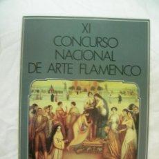 Coleccionismo: PROGRAMA XI CONCURSO NACIONAL DE ARTE FLAMENCO - CORDOBA - MAYO 1986, PORTADA J. ROMERO DE TORRES. Lote 42287876