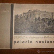 Coleccionismo: PALACIO REAL DE MADRID. ANTIGUO LIBRO DE LÁMINAS. Lote 42362414