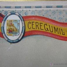 Coleccionismo: HOJA PROPAGANDA DE CEREGUMIL - MALAGA - AÑOS 20-30. Lote 42369835