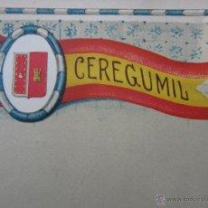 Coleccionismo: HOJA PROPAGANDA DE CEREGUMIL - BURGOS - AÑOS 20-30. Lote 42369997