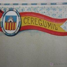 Coleccionismo: HOJA PROPAGANDA DE CEREGUMIL - CASTELLON - AÑOS 20-30. Lote 42370131