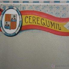Coleccionismo: HOJA PROPAGANDA DE CEREGUMIL - BALEARES - AÑOS 20-30. Lote 42374793