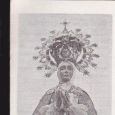 Collectionnisme: TRIPTICO DE NUESTRA SEÑORA DE LA ASUNCIÓN PATRONA DE ELCHE.. Lote 42755235