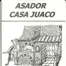 Coleccionismo: TARJETA COMERCIAL ASADOR CASA JUACO, BARCELONA. Lote 42820149