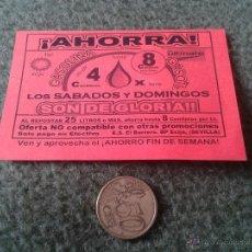 Coleccionismo: VALE DESCUENTO GASOIL GASOLINA GASOLINERA BP ECIJA BUEN ESTADO. PARA COLECCIONISTAS DE PAPEL. Lote 42831705