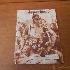 Coleccionismo: RECORTE DE PRENSA ORIGINAL 1933: ANTIGUA FOTO DEL PILOTO GANADOR DE BROOKLANDS BRYAN LEWIS. Lote 43017838