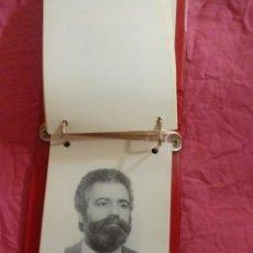 Coleccionismo: VALENCIA. CORTS VALENCIANES: CUADERNO CON 88 FICHAS DE DIPUTADOS DE LA II LEGISLATURA. 1987-91. Lote 43028588