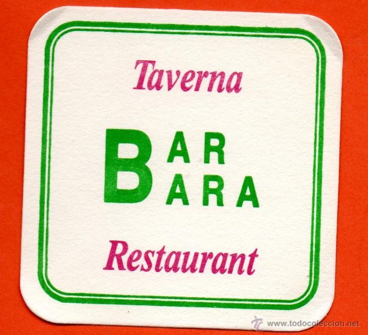 . POSAVASO TEMA BAR CAFETERIA (Coleccionismo - Varios)
