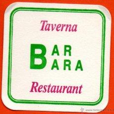 Coleccionismo: . POSAVASO TEMA BAR CAFETERIA. Lote 43057865