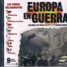 Coleccionismo: CD ROM EUROPA EN GUERRA DIGITAL DREAMS PC MAC 1998. Lote 43239395