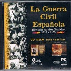 Coleccionismo: CD ROM LA GUERRA CIVIL ESPAÑOLA DIGITAL DREAMS 1998. Lote 43239430