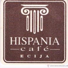 Coleccionismo: BONITO POSAVASOS CAFÉ HISPANIA ÉCIJA. Lote 43365076