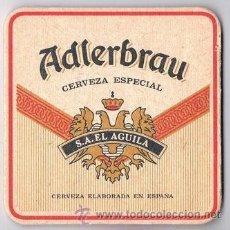 Coleccionismo: ANTIGUO POSAVASOS ADLERBRAU CERVEZA. Lote 43365111