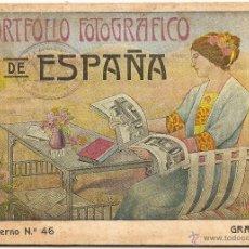 Coleccionismo: GRANADA. PORTAFOLIO FOTOGRÁFICO DE ESPAÑA. Lote 144771336