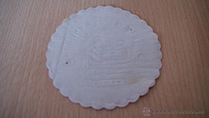Coleccionismo: Posavasos antiguo años 60 Dower bar Americano de Zamora - Foto 2 - 43566986
