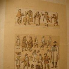 Coleccionismo: ANTIGUA LITOGRAFIA. Lote 43609803