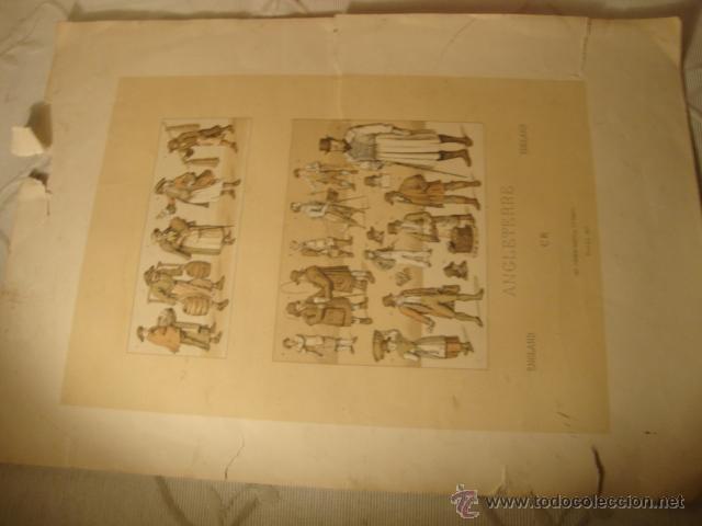 Coleccionismo: ANTIGUA LITOGRAFIA - Foto 2 - 43609803