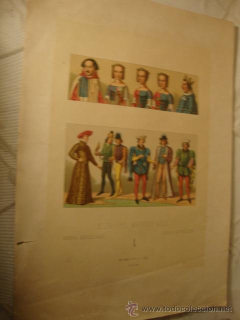 Coleccionismo: ANTIGUA LITOGRAFIA - Foto 2 - 43609923