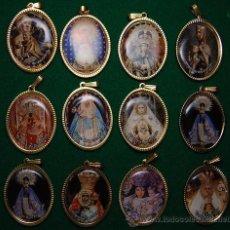 Coleccionismo: LOTE MEDALLAS ADVOCACIONES MARIANAS 12 MEDALLAS (02). Lote 113337286