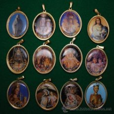 Coleccionismo: LOTE MEDALLAS ADVOCACIONES MARIANAS 12 MEDALLAS (03). Lote 43668607