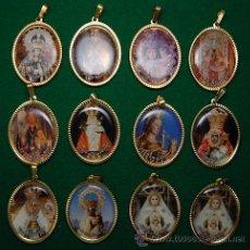 Coleccionismo: LOTE MEDALLAS ADVOCACIONES MARIANAS 12 MEDALLAS (04). Lote 43668773