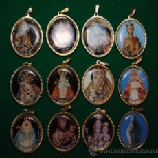 Coleccionismo: LOTE MEDALLAS ADVOCACIONES MARIANAS 12 MEDALLAS (05). Lote 43668927