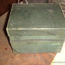 Coleccionismo: ARCHIVADOR PEQUEÑO DE CARTÓN DE LOS AÑOS 40. Lote 43801025