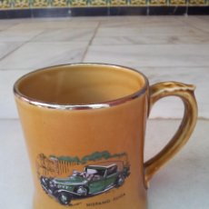Coleccionismo: JARRA DE PORCELANA VETERAN CARS SERIE 8 ( NO 24 ) HISPANO - SUIZA. Lote 43942328
