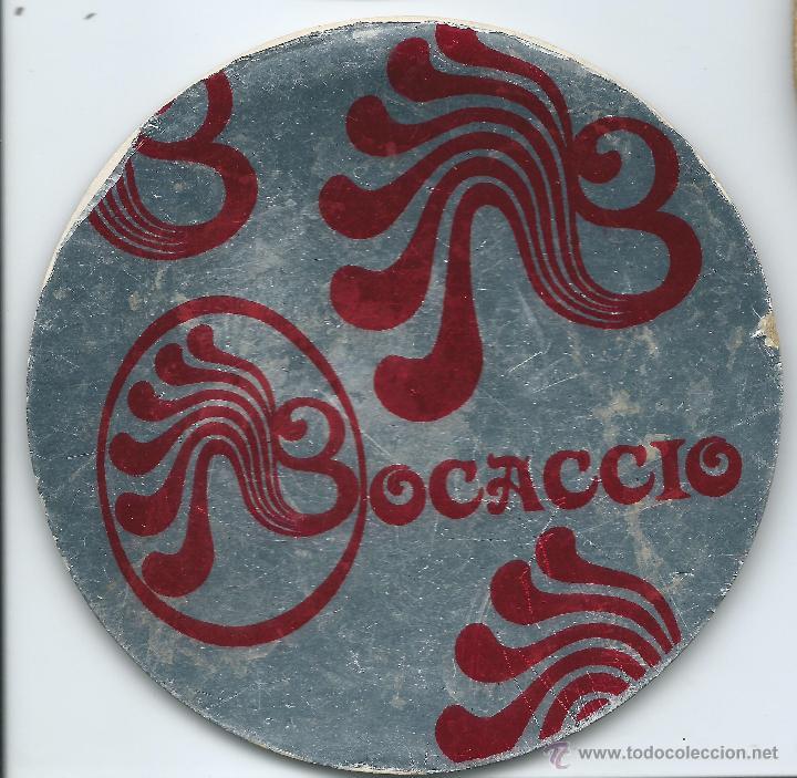 POSAVASOS BOCACCIO 10 CM DIAMENTRO (Coleccionismo - Varios)
