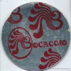 Coleccionismo: POSAVASOS BOCACCIO 10 CM DIAMENTRO. Lote 44083286