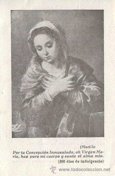 ANTIGUA ESTAMPA RECORDATORIO, DEL CUMPLIMIENTO PASCUAL AÑO 1956 (Coleccionismo - Laminas, Programas y Otros Documentos)