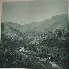 Coleccionismo: LAS BATUECAS SALAMANCA VISTA GENERAL HUECOGRABADO AÑOS 40. Lote 44312020