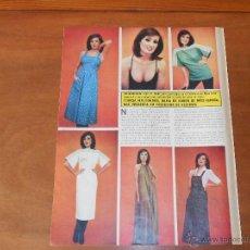 Coleccionismo: ARTÍCULO EN PRENSA 1975: TERESA MALDONADO, DAMA DE HONOR DE MISS ESPAÑA. Lote 44483481