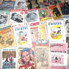 Coleccionismo: LOTE DE 23 PUBLICACIONES DE LOS AÑOS 50 - 60 ·· VARIOS TEMAS ·· VER FOTOGRAFIAS. Lote 44704546