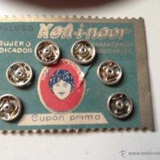 Coleccionismo: KON - I - NOOR. CORCHETES. BARCELONA.. Lote 44733802