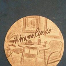Coleccionismo: POSAVASO CAFETERÍA MIRAME LINDO .. Lote 44795411